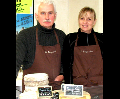fromages savoyards fermiers pour l'auberge du Chaudron Montsapey